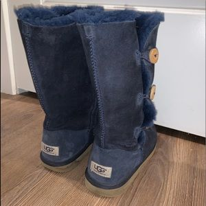 Tall Navy Blue Ugg Boots